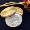 Coin Casket Divination - Brass
