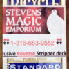 Reverse Stripper Deck - BLUE - SME Private Label Brand