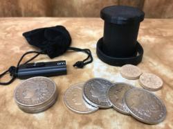 John Ramsay Morgan Coin Set