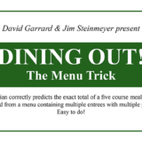 Dining Out - David Garrard - Jim Steinmeyer