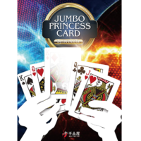 Jumbo Princess Card Trick with a KICKER