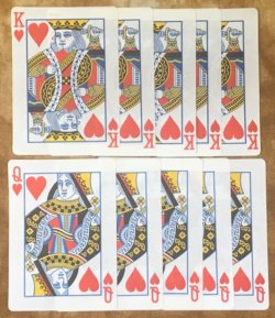 Flash Paper Playing Cards