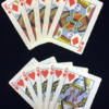 Flash Playing Cards - Combo Pack 2 - King Diamonds and Queen of Hearts - Panda Magic