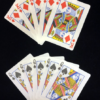 Flash Playing Cards - Combo Pack 3 - King of Diamonds - Queen of Spades - Panda Magic