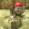 Ball Vase - Stabilized Liquid Amber - Richard Spencer