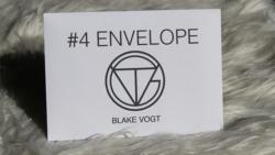 Number 4 Envelope (Gimmicks and Online Instructions) by Blake Vogt