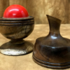 Ball and Vase - Stabilized Koa #020- Richard Spencer