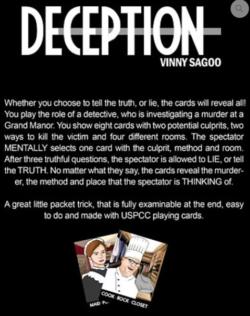 Deceptions - Vinny Sagoo - NEO Magic