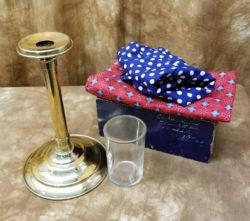 Glass Thru Hat - Petrie Lewis - P&L