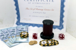 Ramsay Cylinder and Coins Set - Casino Chip