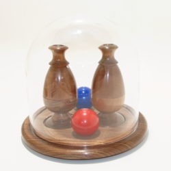 Transposition Double Color Changing Ball Vase by Richard Spencer
