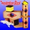 Penetration Block & Rope - Mikame
