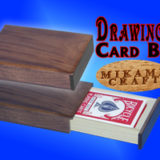 Drawing Card Box, Walnut, Mikame