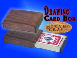 Drawing Card Box, Walnut, Mikame