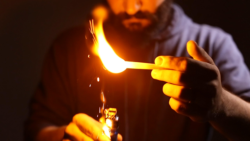 Flame - Floating Fire Trick
