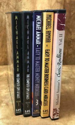 Michael Ammar DVD Bundle Set