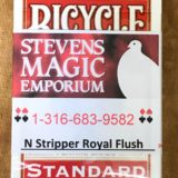 N Stripper Card Deck - Royal Flush
