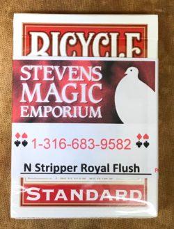 N Stripper Card Deck - Royal Flush