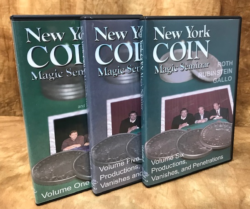 New York Coin Magic Seminar Bundle DVD Set