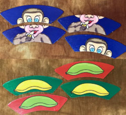 Monkey Puzzle - Jastrow Illusion