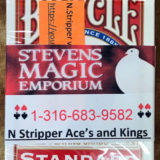 N Stripper Card Deck - Aces and Kings