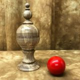 Ball and Silk Vase