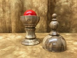Ball and Silk Vase