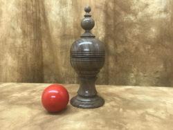 Ball and Silk Vase - Richard Spencer
