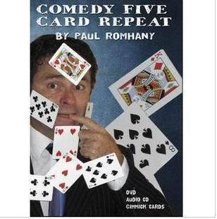 Comedy Five Card Repeat by Paul Romhany – Estate – Primi (Gimmicks ...