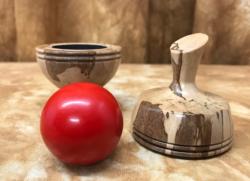 Liquid Amber 25 White Ball Red Ball