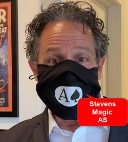 Masked Jeff Bornstein