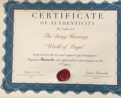 NBC World of Magic - Doug Henning - 1975