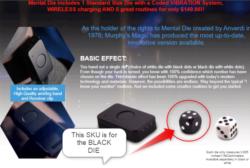 Mental Die - Black Die