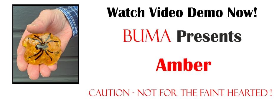 Buma Amber 3 redo 8 black