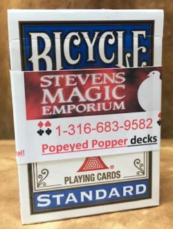 Popeyed Popper Blue - Stevens Magic