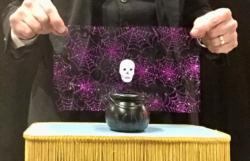 Spook in a Cauldron Photo - Baffling Bill