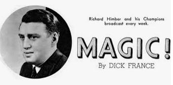 Richard Himber Magicians and Musician