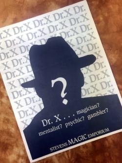 Dr.X Catalog Cover