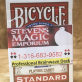 Brainwave Bicycle Poker Magic Deck