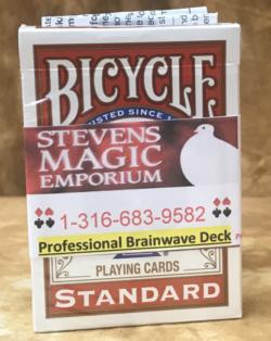 Brainwave Bicycle Poker Magic Deck