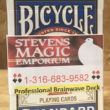 Brainwave Bicycle Poker Deck - Magic