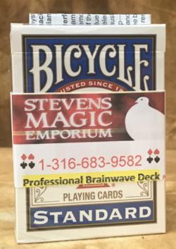 Brainwave Bicycle Poker Deck - Magic