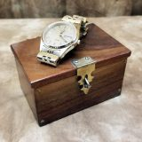 Lippincott Coin Box Wrist Watch Size Babcock