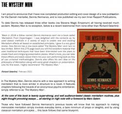 The Mystery Man - Dennis Hermanzo - Book Mentalism Magic