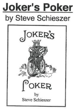 Joker's Poker