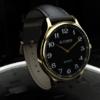 Infinity Watch V3 - Gold Case Black Dial - Pen Version