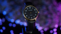 Infinity Watch V3 - Gold Case Black Dial / STD Version (Gimmick and Online Instructions)