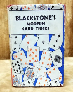Blackstone's Modern Card Tricks 1932