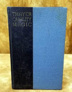 Thayer Magic Quality Catalog Number 8 - 1936