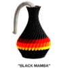The American Prayer Vase - Black Mamba